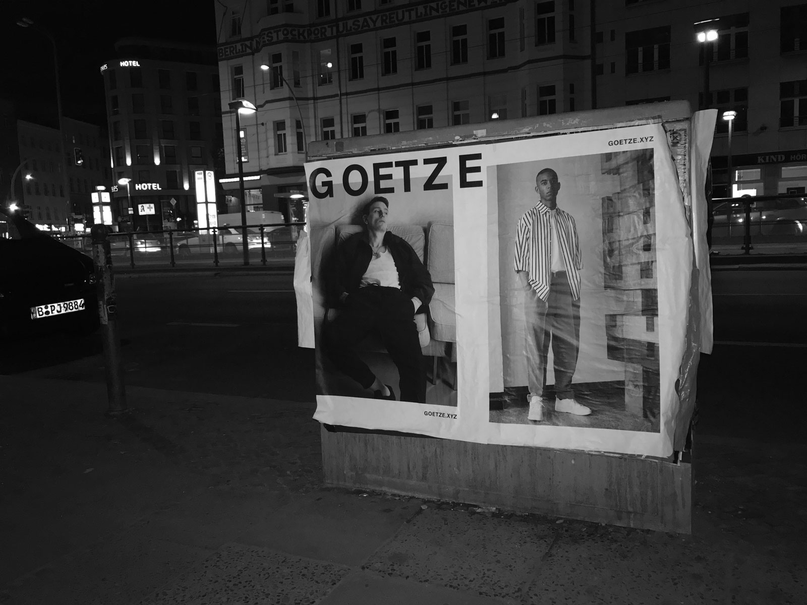 OLIVER MOORE Art Direction and Graphic Design  Idastrasse 17 13156 Berlin  studio@olivermoore.de +49 (0)30 40368971 GOETZE campaign SS17