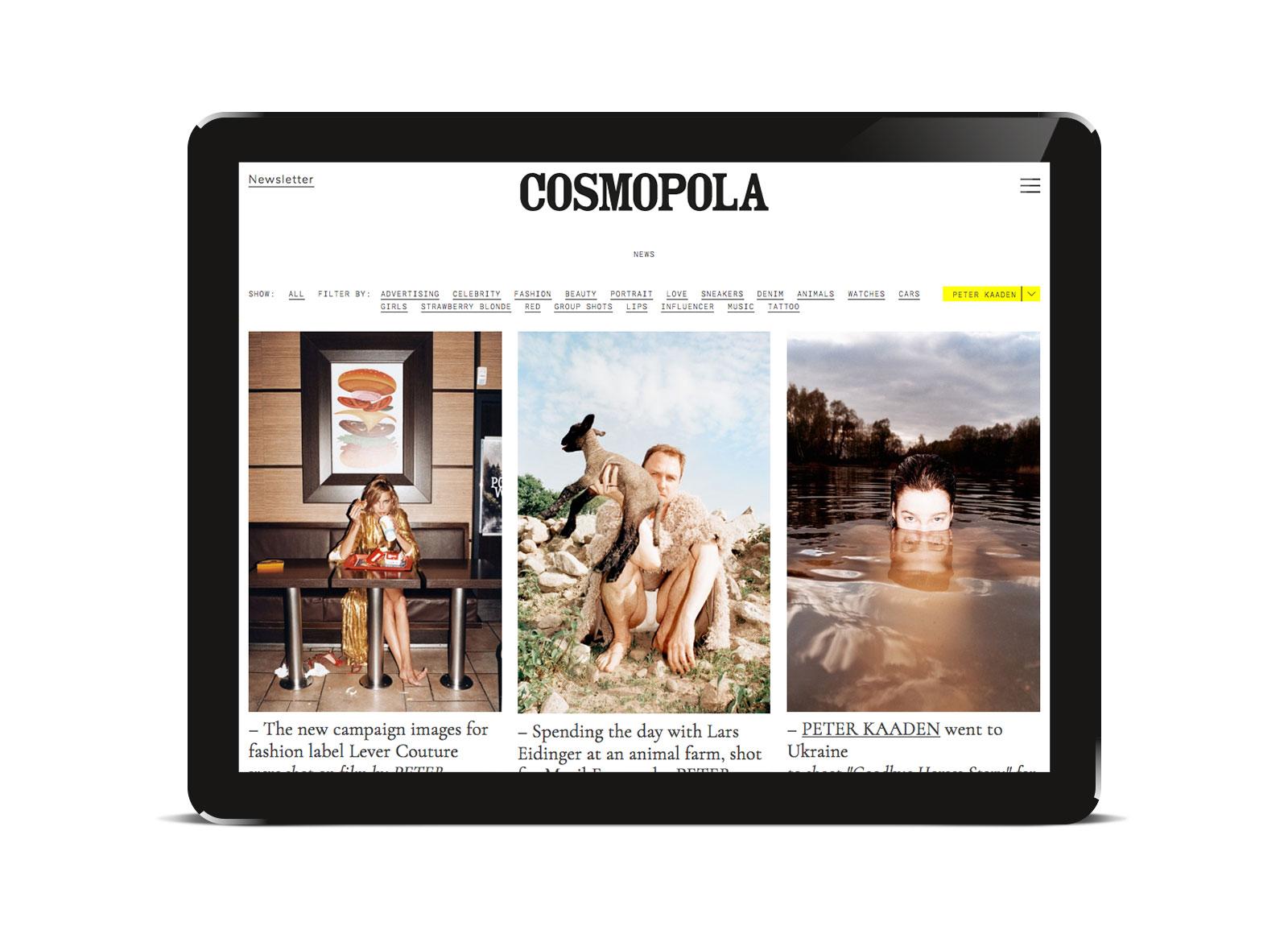 OLIVER MOORE Art Direction and Graphic Design  Torstrasse 98 10119 Berlin  studio@olivermoore.de +49 (0)30 40368971 Cosmopola Artist Management – Website