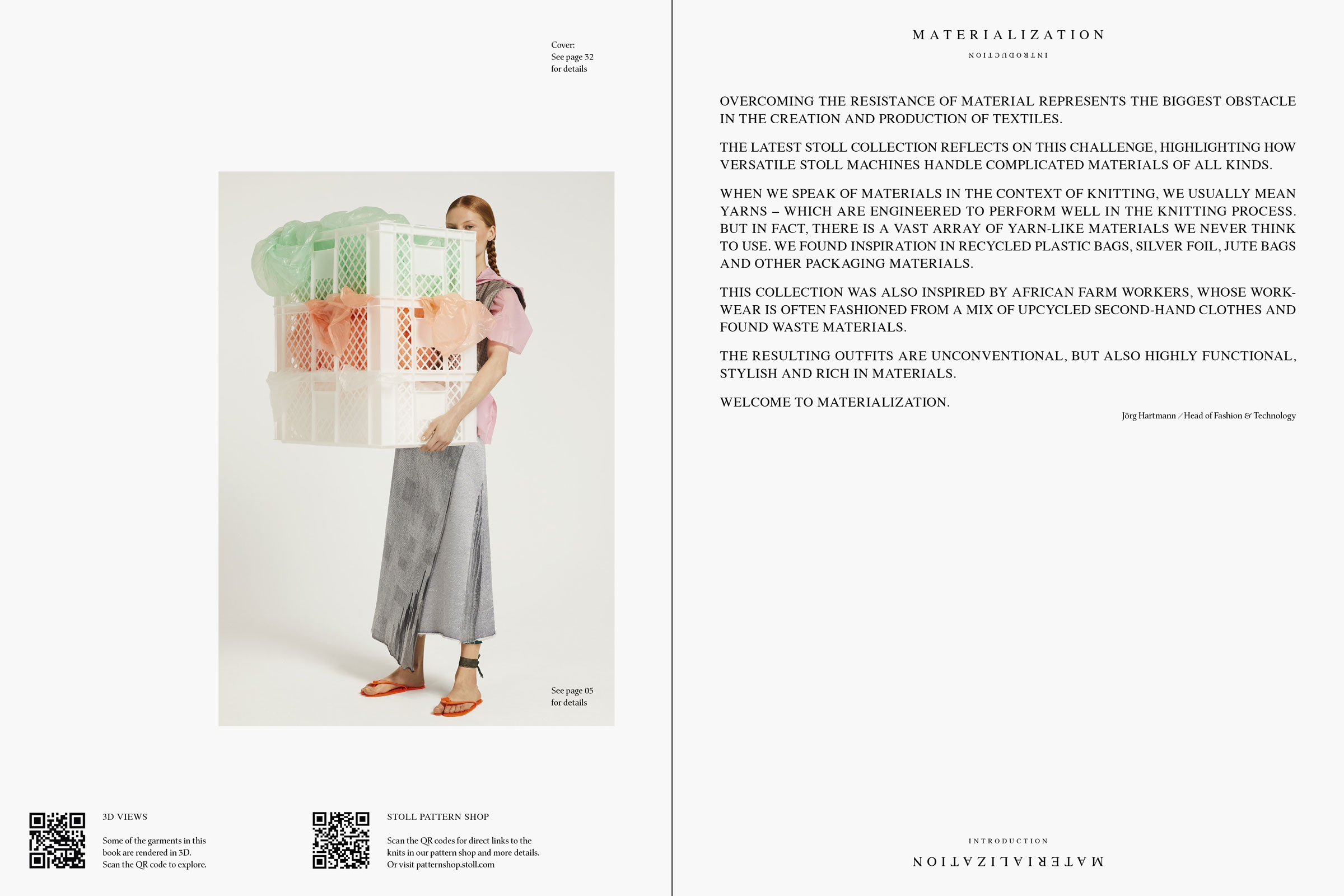 OLIVER MOORE Art Direction and Graphic Design  Torstrasse 98 10119 Berlin  studio@olivermoore.de +49 177 7466676 STOLL Materialization